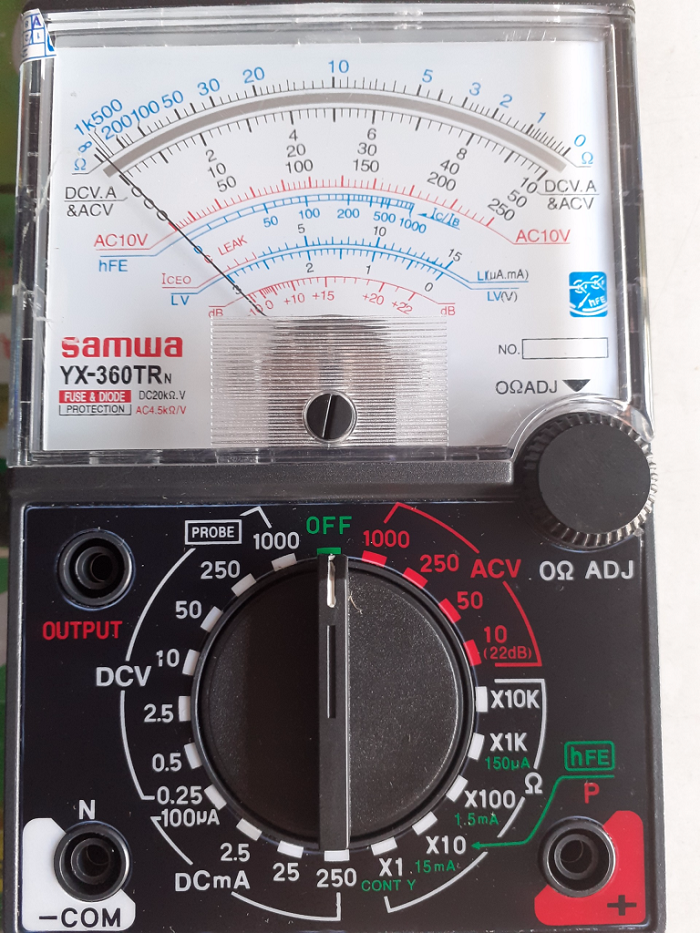 Máy đo cường độ dòng điện của mạch