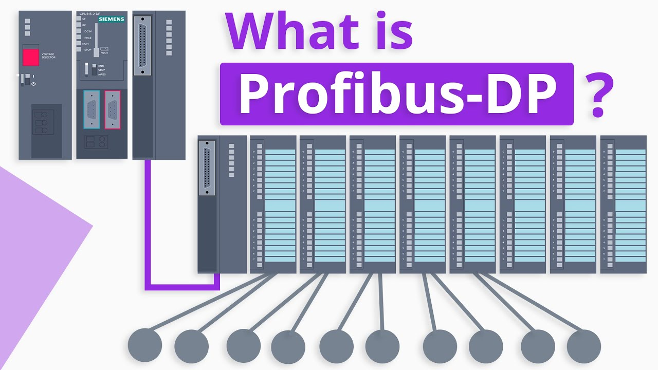 Profibus là gì - Profibus DP