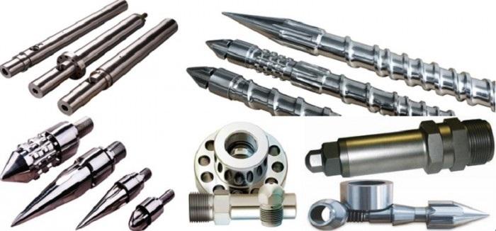 Một số bộ phận trong máy ép đùn nhựa