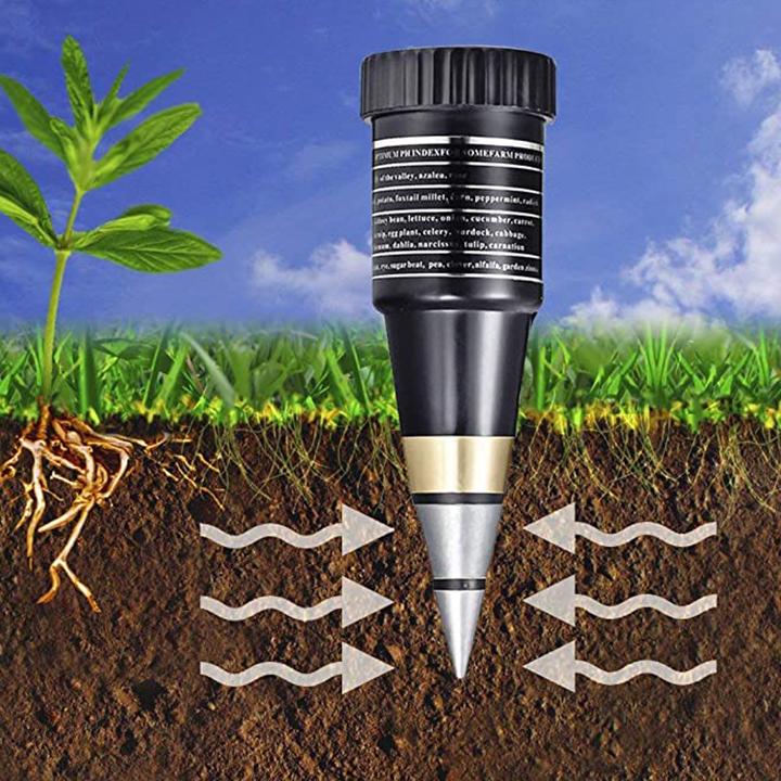 Đo độ pH của đất
