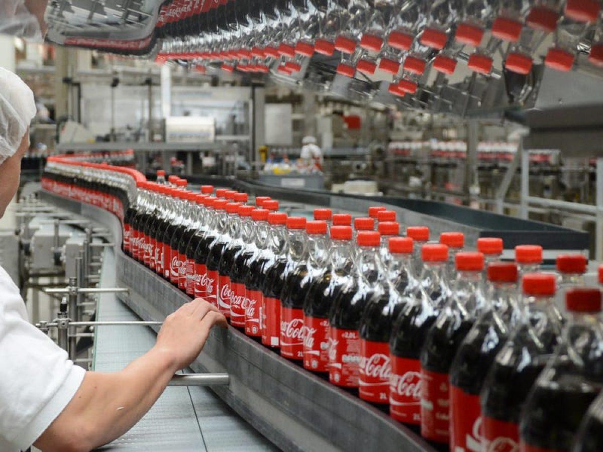 Nhà máy đóng chai Coca-Cola tại đặt HM Interdrink (Đức)