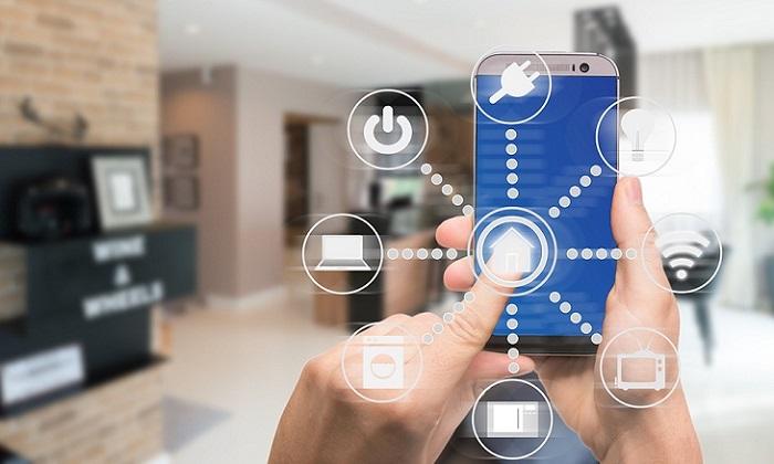 Sử dụng hệ thống KNX thông qua điện thoại thông minh