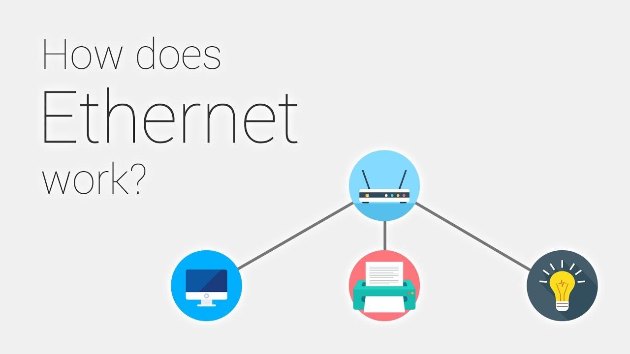 Cáp Ethernet hoạt động như thế nào?