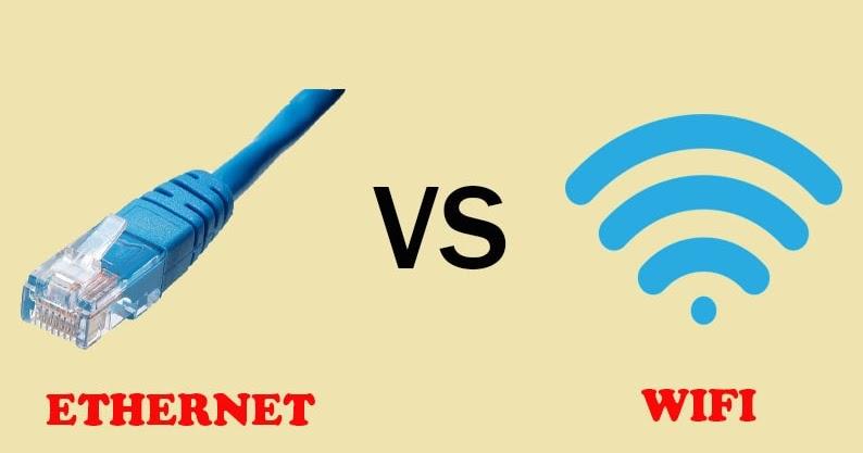 Ưu điểm của Ethernet so với Wi-Fi