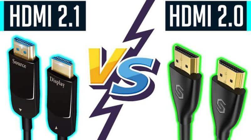 Phân biệt sự khác nhau giữa HDMI 1.4, 2.0 và 2.1