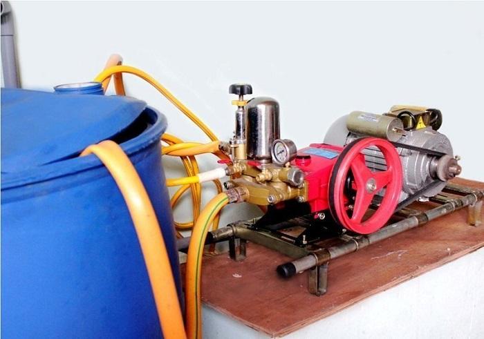 Máy rửa xe được ứng dụng rộng trong nhiều hoạt động khác nhau