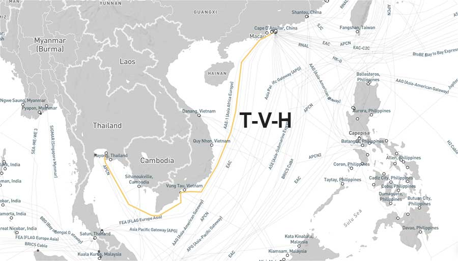 Tuyến cáp quang biển TVH