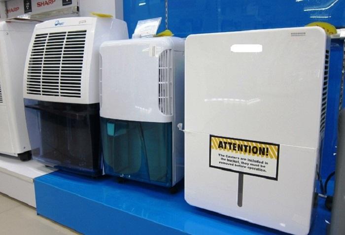 Một số dòng máy hút ẩm trên thị trường