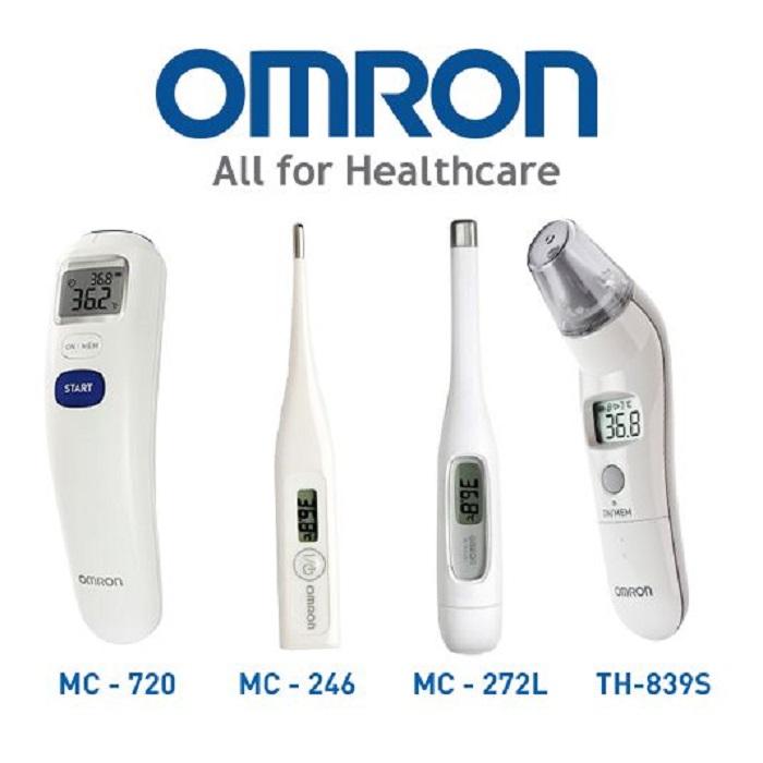 Omron thương hiệu nhiệt kế điện tử hiện đại nhất hiện nay