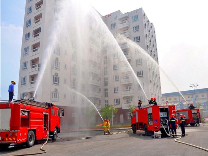 Sản phẩm chuyên dùng để chữa cháy cho các tòa nhà cao tầng