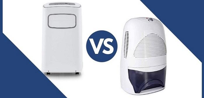 Máy hút ẩm có những khác biệt về cơ chế so với máy lọc không khí