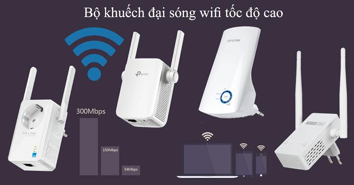 Một số bộ khuếch đại wifi điển hình nhất