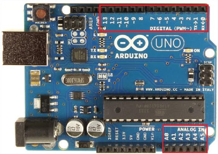 Arduino có nhiều ứng dụng trong thiết bị kỹ thuật