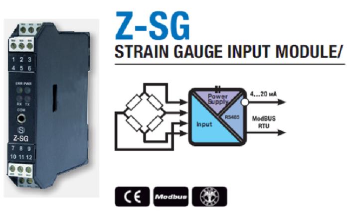 Bộ chuyển đổi loadcell Z-SG có tính ứng dụng cao