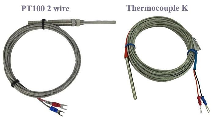 Cảm biến nhiệt độ 2 dây gồm nhiều loại khác nhau