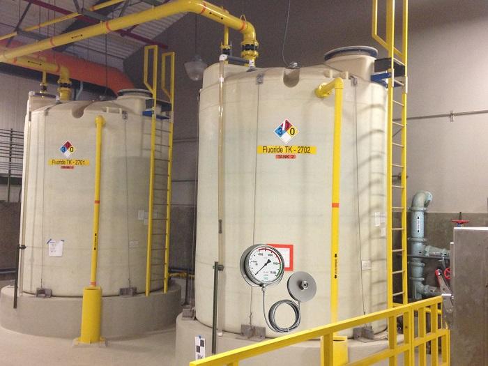 Tính ứng dụng của sản phẩm đồng hồ xác định mức nước trong các nhà máy