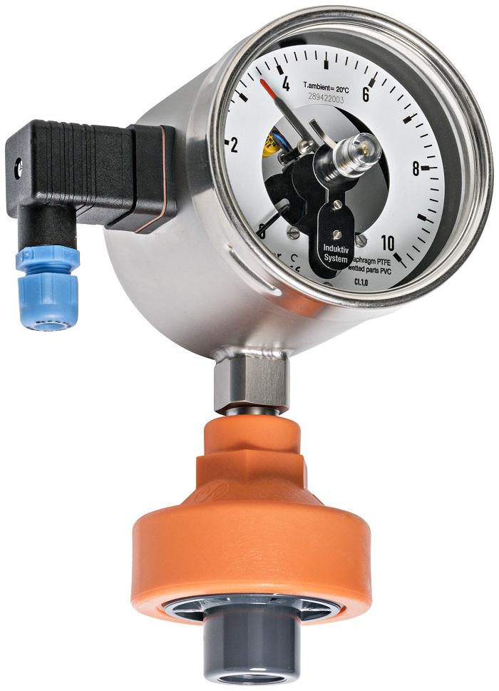 Hình ảnh mô tả đồng hồ đo áp suất hóa chất