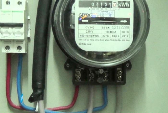 Công suất điện quyết định trực tiếp đến trị số hiển thị của đồng hồ đo điện
