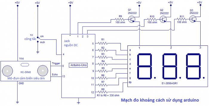 Một dạng vi mạch điều khiển khá phức tạp của arduino