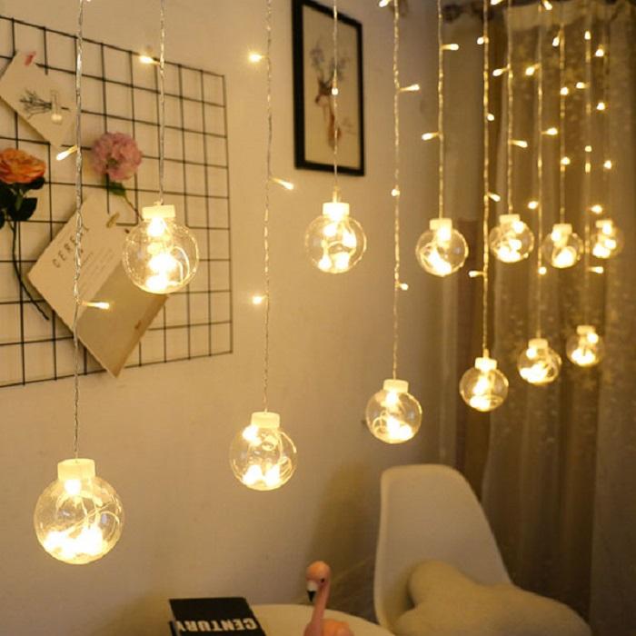 Đèn led trang trí không gian phòng ngủ