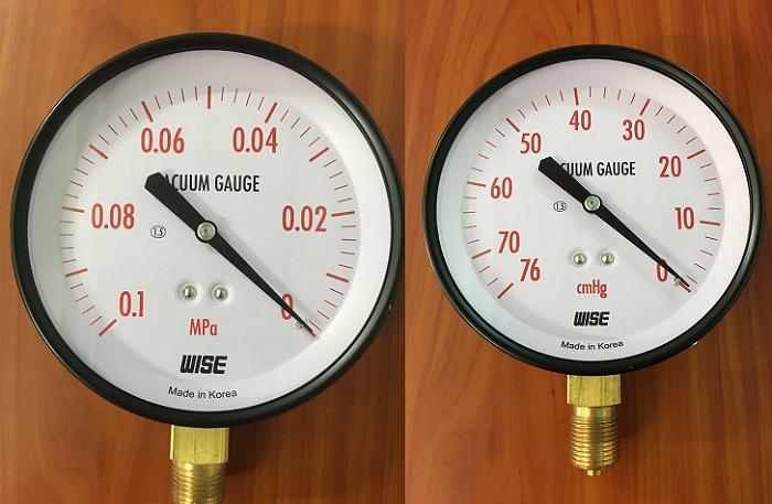 Một số đồng hồ đo áp suất