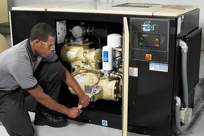 Bảo trì máy nén khí trục vít như nào?