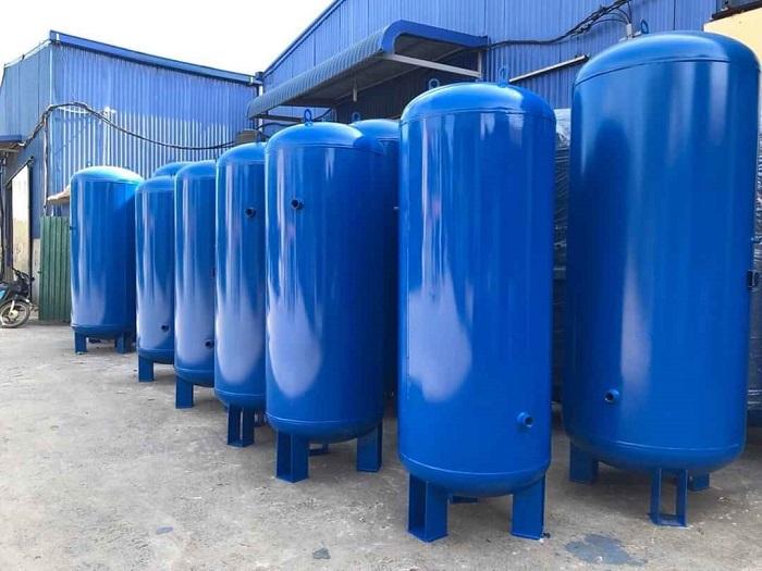 Bình chứa khí dung tích 500 lít được sử dụng rất nhiều