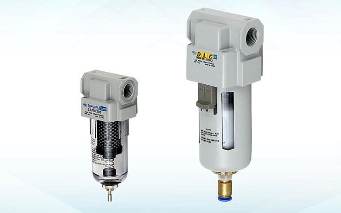 Bộ lọc khí trong hệ thống khí nén có chức năng gì?