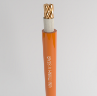 Hình ảnh thực tế dây cáp có khả năng chống cháy