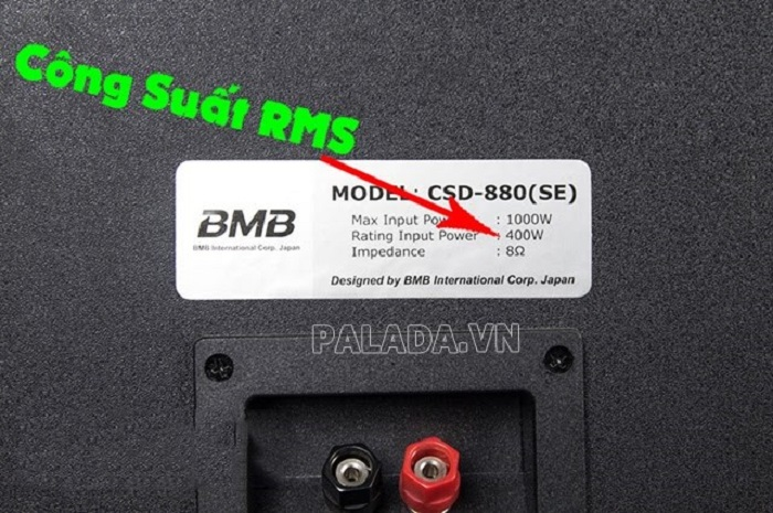 Trị số RMS thường được hiển thị trên một số thiết bị