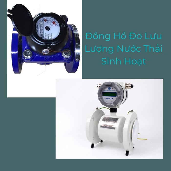 Đồng hồ đo nước thải sinh hoạt là gì?
