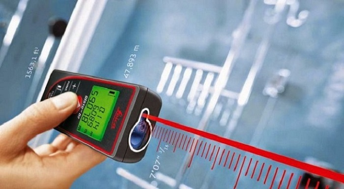 Lưu ý quan trọng khi sử dụng máy đo khoảng cách