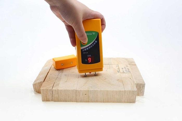 Xác định độ ẩm trong gỗ như nào?
