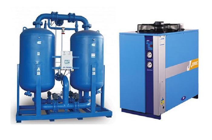 Máy sấy khí giúp tăng độ tinh khiết cho khí nén
