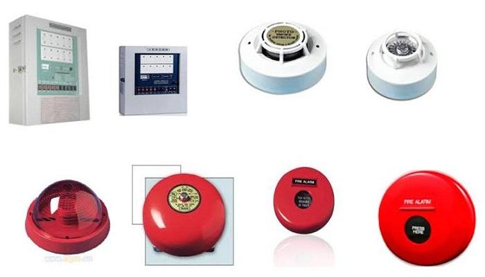 Một số loại thiết bị báo cháy