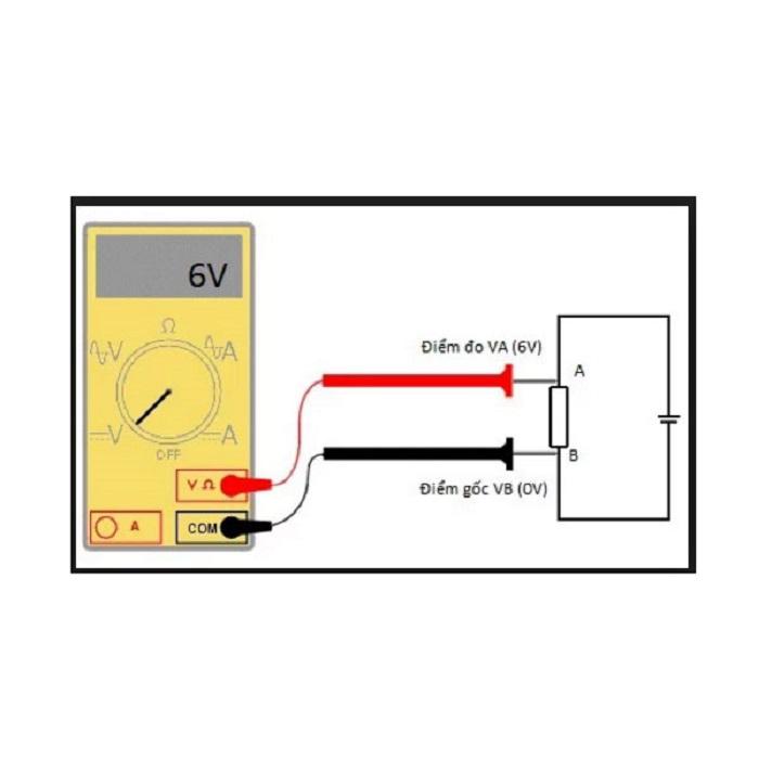 Đo điện áp đơn giản