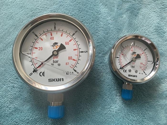 Đo áp suất bằng đồng hồ