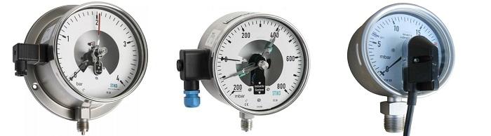 Đồng hồ đo áp suất có nhiều loại