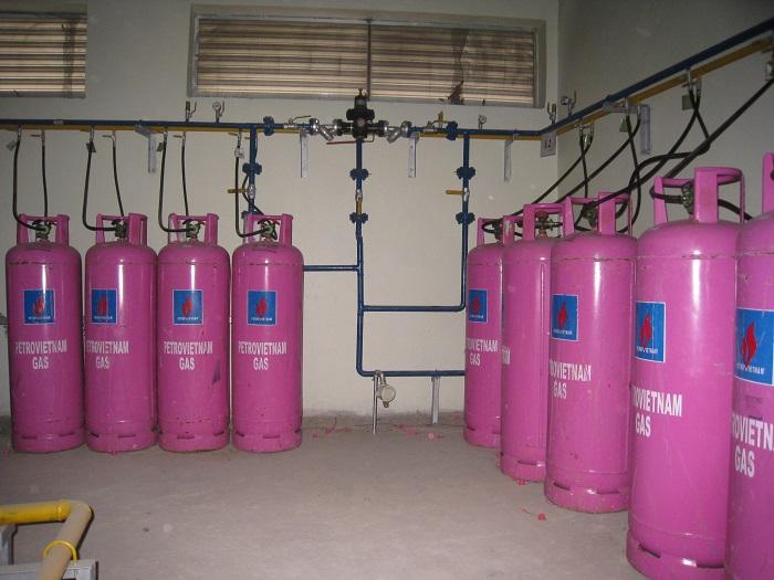 Khí LPG trong ứng dụng làm khí gas