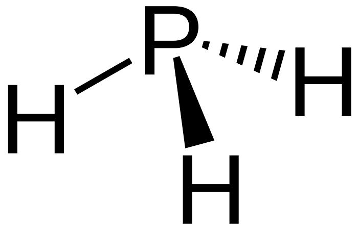 Khí PH3 có ứng dụng đặc biệt trong nông sản